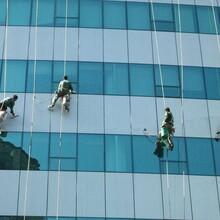 昌平外墻玻璃幕清洗公司圖片
