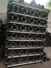 河北機制鑄鐵管W型3米一根黑漆鑄鐵管圖片