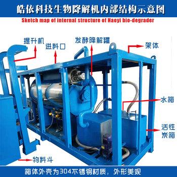河南鄭州病殘畜禽處理溺死雞鴨發酵機設備
