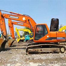 原裝斗山220和225二手挖掘機轉讓價格便宜可改吸盤抓鐵