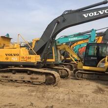 二手沃尔沃210240等挖掘机出售原装进口沃尔沃挖掘机厂家转让图片