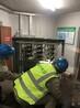 配电房高压柜等进水被淹设备带电清洗养护