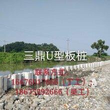 生态U型板桩生产施工图片