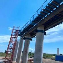 橋梁蓋梁平臺組合式平臺轉角施工平臺圖片