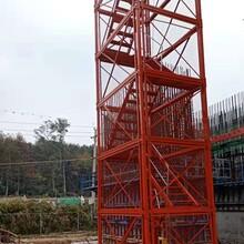 墩柱施工梯籠掛網式梯籠圖片