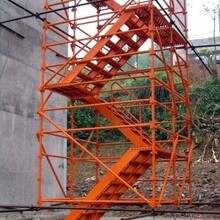 桥梁施工爬梯框架式爬梯建筑爬梯图片