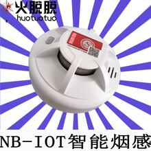肇庆5G智能NB-IOT消防感烟探测器图片