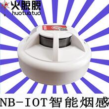 阳江5G智能NB-IOT消防感烟火灾探测器图片