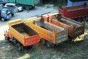 新津县报废货车回收报价图片