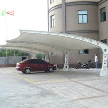 武汉市膜结构停车棚、武汉江夏区停车棚厂家、武昌区汽车棚设计图片