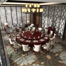 豪華電動餐桌