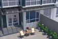 青岛铝合金窗棚安装工程