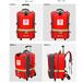 紅色個人攜行背囊背包-衛生應急個人攜行裝備背囊