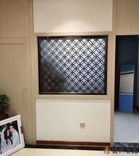 惠州室内不锈钢花格隔断图片