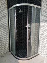 廣東酒店浴室弧形不銹鋼玻璃門不銹鋼玻璃門價格圖片