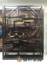 廣東定制不銹鋼博古架辦公不銹鋼置物架圖片
