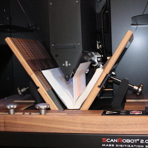 江蘇全自動掃描機器人,全自動書刊掃描機器人
