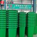 聚乙烯多色分類垃圾桶環衛一體化垃圾箱