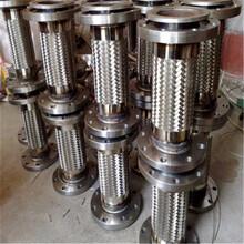 山东厂家自产自销波纹金属软管不锈钢法兰金属软管图片