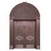 长期销售温州工程铜门-雕刻铜门厂家报价-御林盾门业