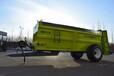 廠家直銷大連雨林禽畜糞肥撒糞機,化肥施肥車參數定制