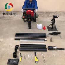 环境检测土壤取样钻机轻便型取土钻机10米原状土采集勘探设备图片