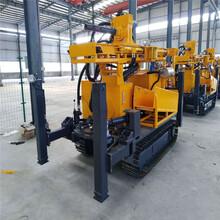 利亨机械供应QY200履带式气动水井钻机气动冲击式水井钻机图片