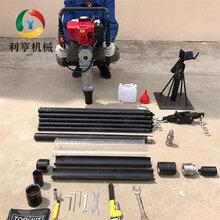 汽油取土钻机现货供应无扰动完整土壤采集器图片