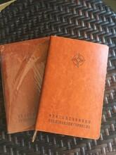 黑色头层皮笔记本定做西安活页本印字活页线圈本定做西安礼品笔记本生产厂家图片
