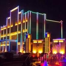 阆中市楼体亮化工程设计公司图片
