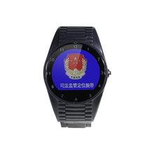 新款4G司法监管腕带防拆卸GPS手表图片