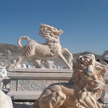 宁夏石狮子定制图片