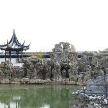 陕西假山厂家图片