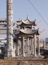 黑龙江石雕凉亭设计图片