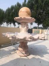 江西石雕喷泉厂家图片