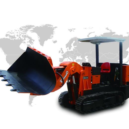 岳陽側卸式裝巖機-煤礦用鏟車,ZCY60R鏟車