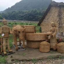 普洱稻草人制作圖片