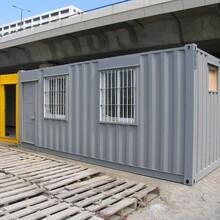 威海文登防火集裝箱房活動房住人彩鋼房價格圖片