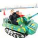 油電混合續航游樂坦克車廠家游樂坦克車價格