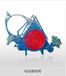 上海閥門廠家大口徑電動氣動盲板閥翻板閥廠家F943X盲板閥廠家