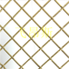 黃金色金屬編織裝飾網金黃色金屬編織裝飾回字形金屬裝飾網