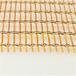 酒店展館酒店吊頂裝飾金屬編制迪奧鉆石格古銅做屏風金屬鐵絲篩網