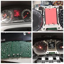 汽车仪表维修仪表灯改色不亮修复背光灯小灯更换仪表里程调校图片