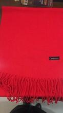 西安年會紅圍巾,廣告紅圍巾,禮品圍巾定制圖片