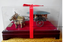 西安創意禮品定制,銅馬車,紀念品定制圖片