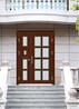 青岛定做楼宇门尺寸小区对讲门玻璃单元门发货快