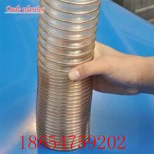 鹽田pu耐高溫鋼絲管pu無味透明軟管供應