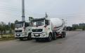供应陕汽M3000(10-14方)国六排放混凝土搅拌运输车