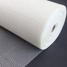 玻纤网墙面抗裂耐碱网格布玻璃纤维内外墙装修防裂自粘网格布图片
