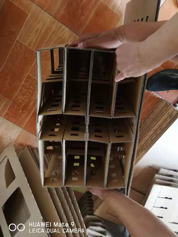 11-33干式喷漆房纸箱式漆雾过滤器价格河北石家庄过滤纸箱批发
